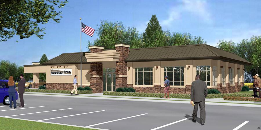 Creekside Bank Consultants Builders